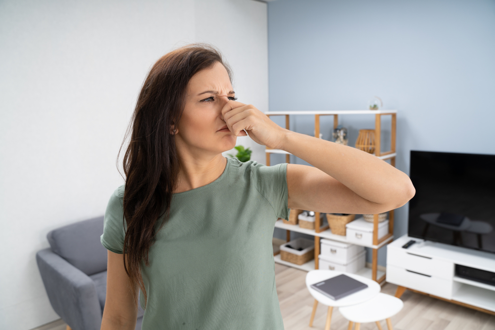carboleum geur verwijderen